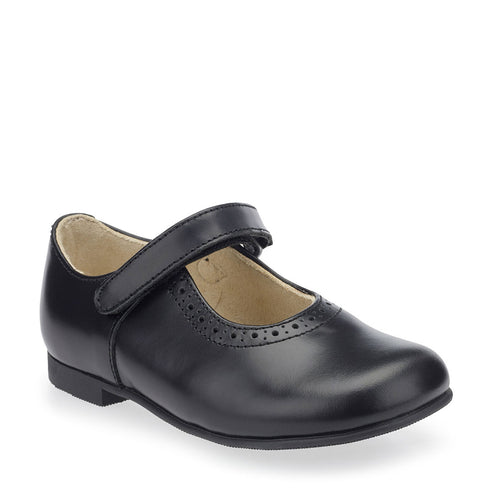 Delphine Navy Leather