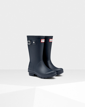 Load image into Gallery viewer, Hunter Original Kids Wellington Boots Navy