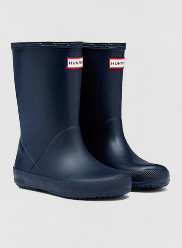 Hunter Original Kids First Classic Wellington Boots: Navy