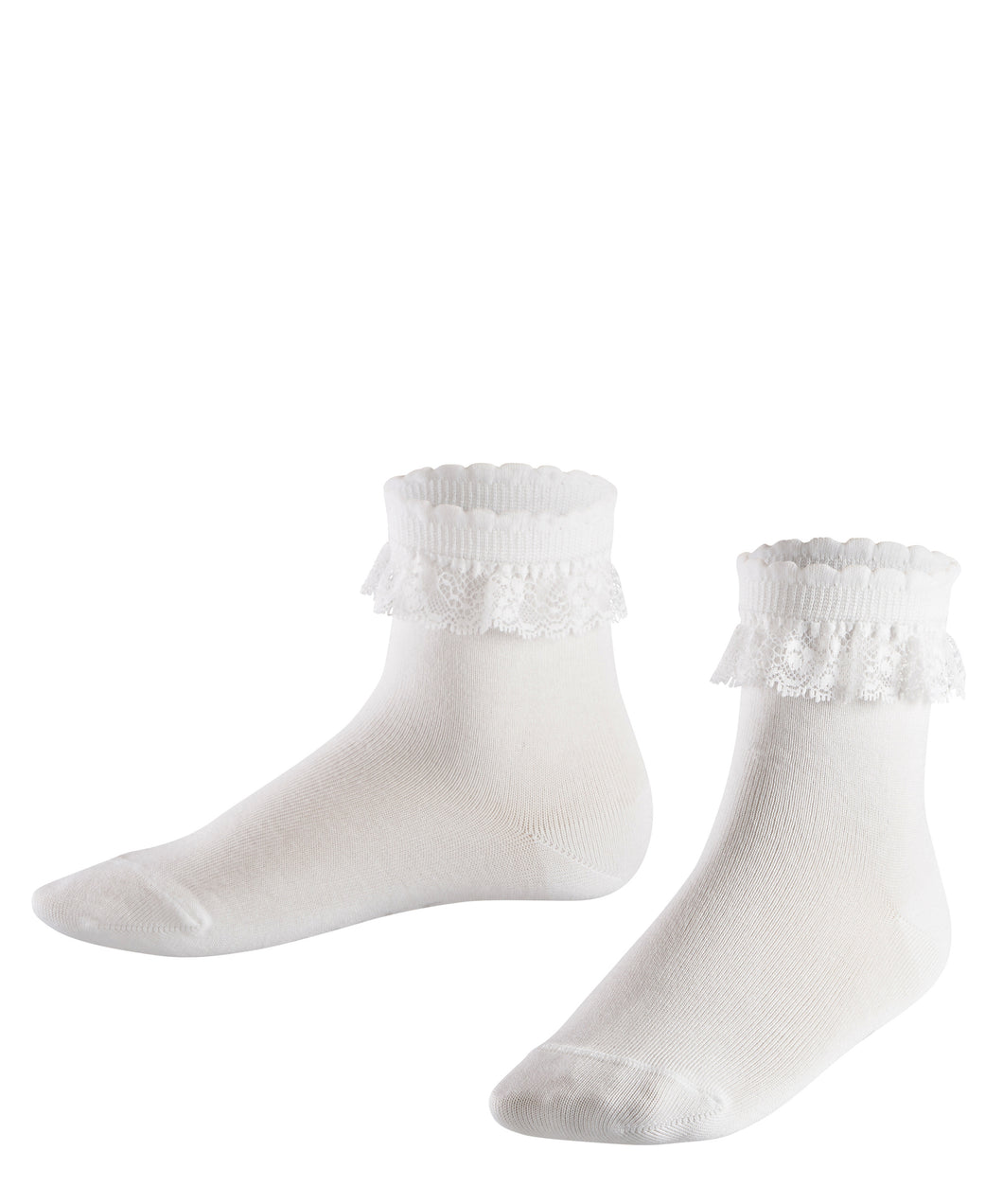 White Socks Romantic Lace