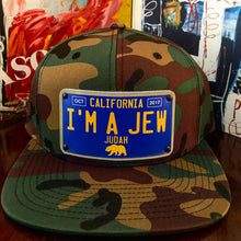 "Load image into Gallery viewer, ""I'm A Jew"" SnapBack Hat"