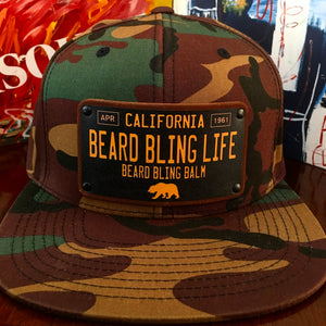 Beard Bling Life Snapback Hat