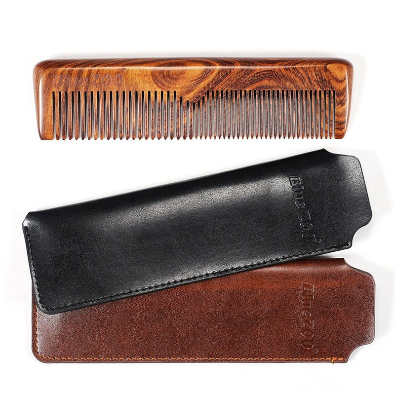 Blue Zoo Wooden Comb
