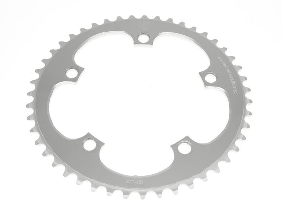 Chainring Driveline silver, 39-53T, 5H, D130