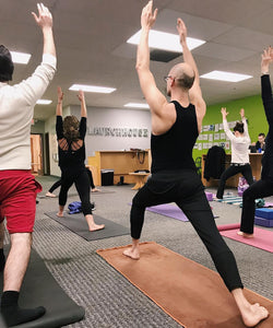 Free Yoga & Happy Hour