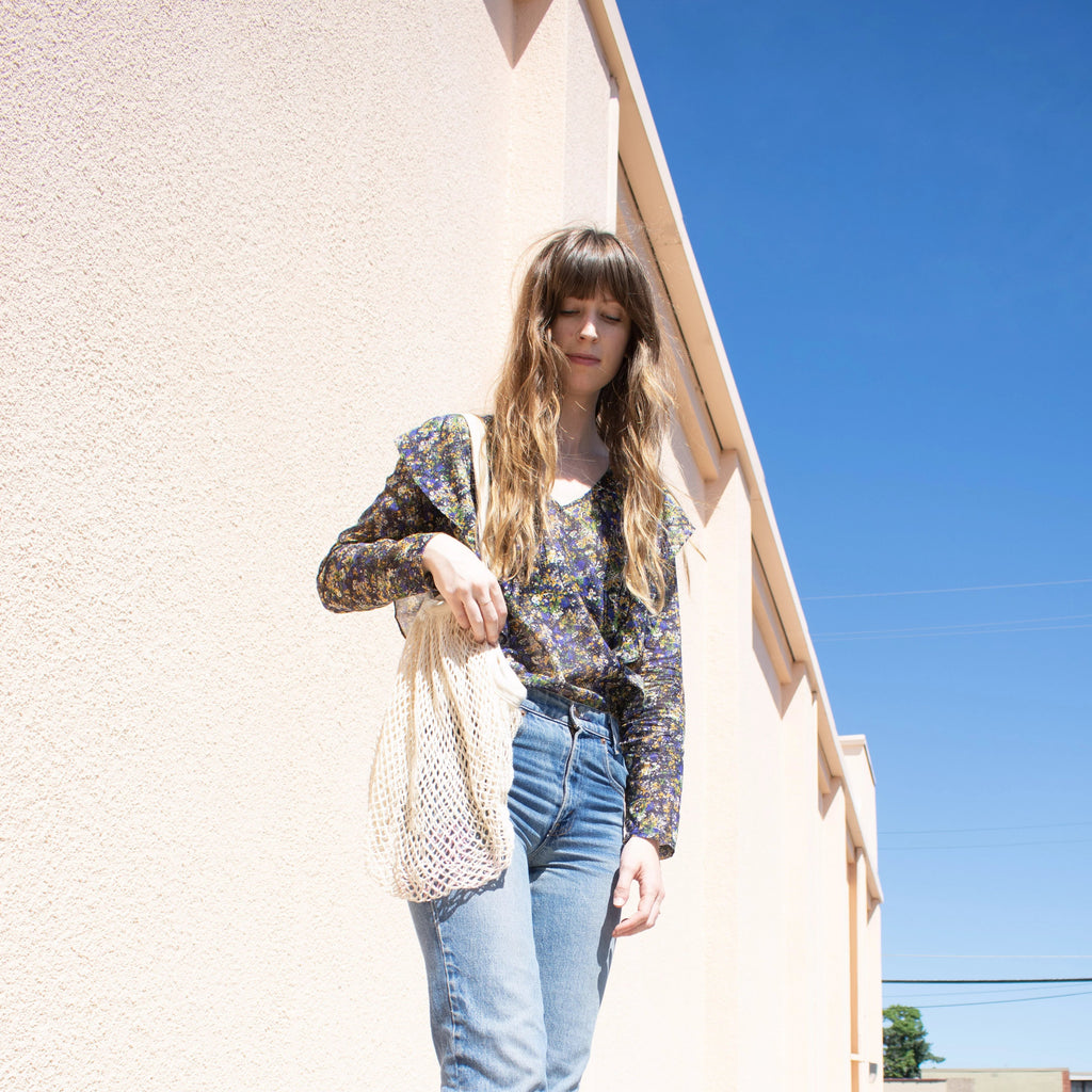 Meadow Ruffle Blouse - Leo Collective