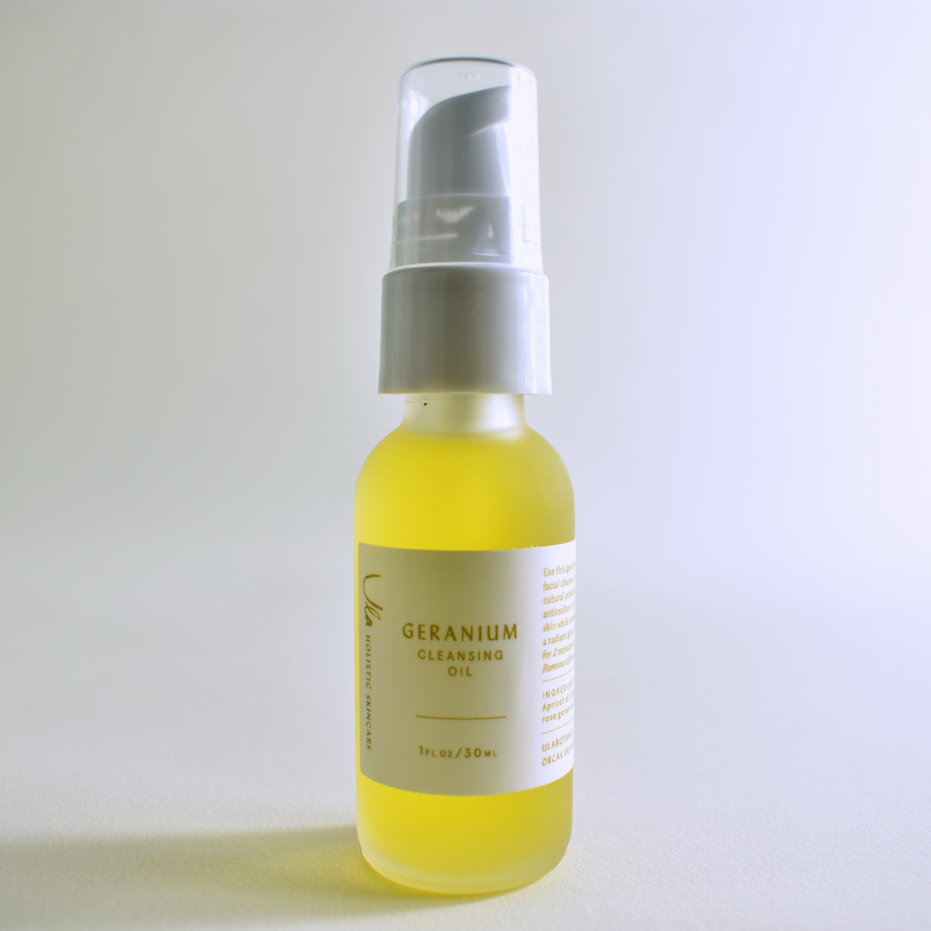 Geranium Cleansing Oil - Leo Collective
