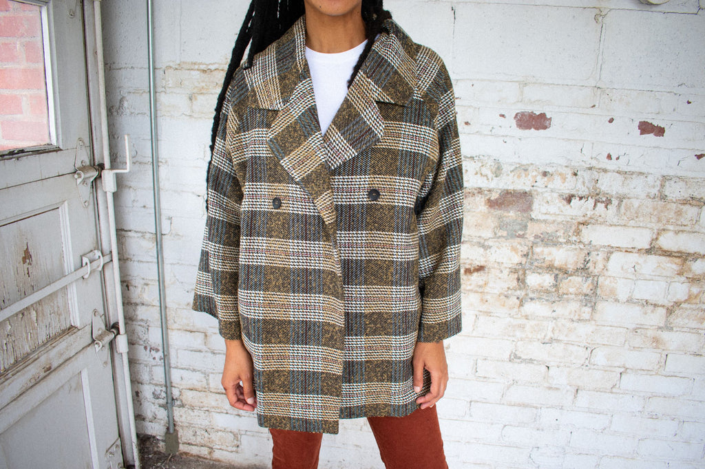 Inverness Cocoon Coat - Leo Collective