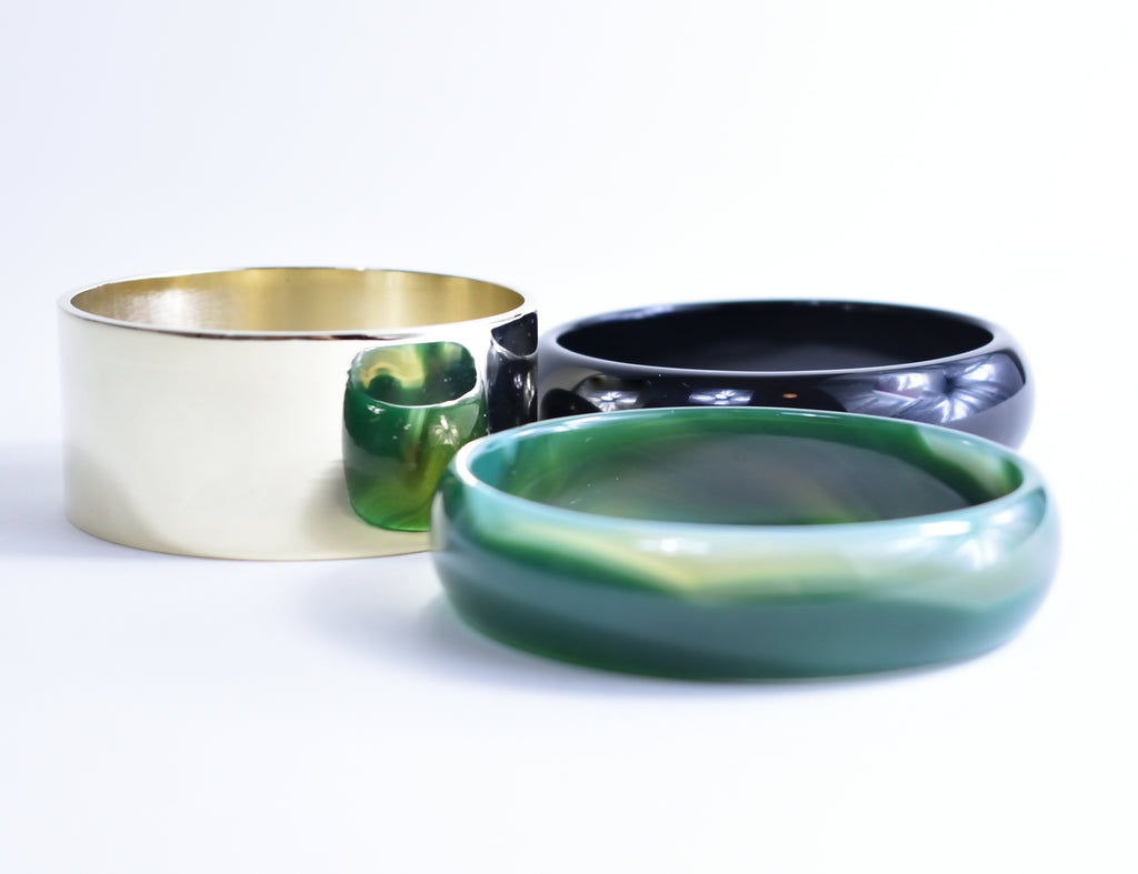 Bangle Set by Iosselliani - Leo Collective