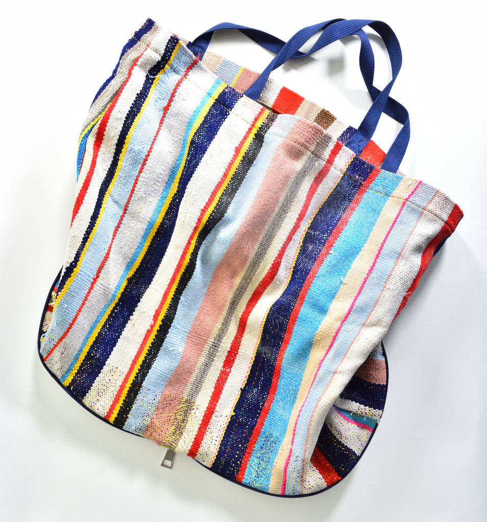 Marrakech Tote ~ Stripes - Leo Collective