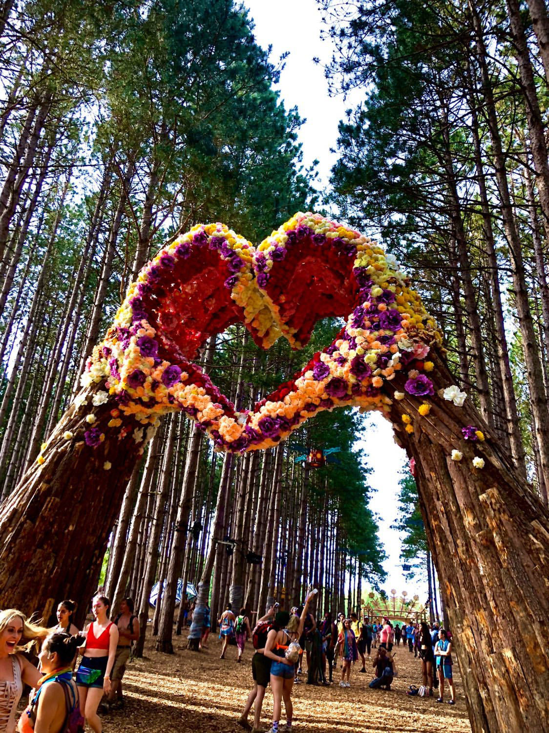 Ultimate guide to electric forest music festival. Blog post about electric forest. Tips to have the best experience at Electric Forest. Music festival pashmina. The perfect festival accessory. Super comfortable pashmina scarf.