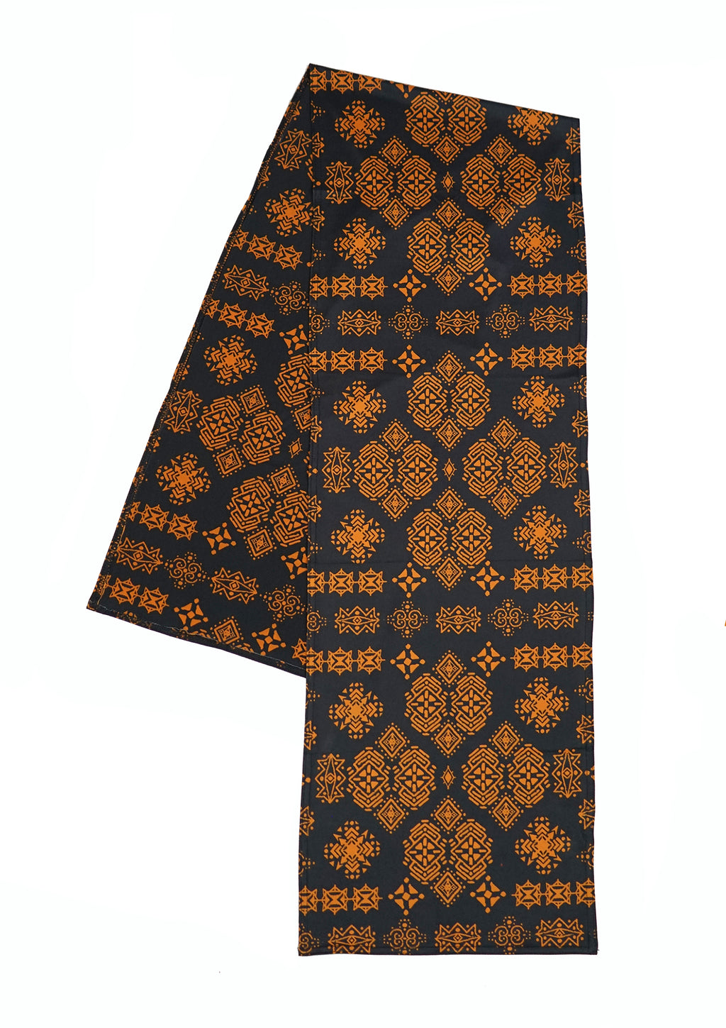 Super comfortable festival pashmina. Unique tribal patterns with vibrant gold and black colors. The perfect music festival accessory that can be used as a face mask.