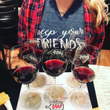 Keep your friends close and your wine closer