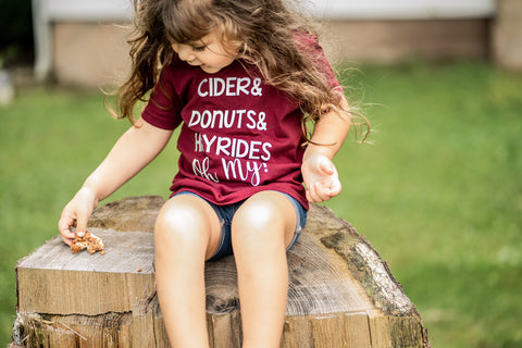 Cider & Donuts & Hayrides, Oh My!