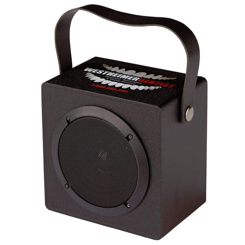 with Business Logos- Party-On-The-Go Speaker -Bluetooth Speaker - Black-10 per Package- Bulk
