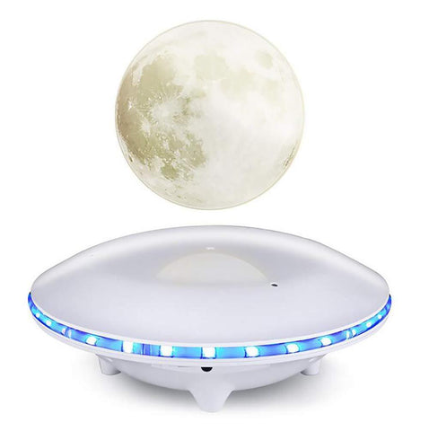 Speakers Floating 3D Moon Portable Bluetooth Player Christmas Birthday Present