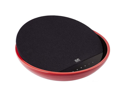 Ceramic Bluetooth Audio System, Black and Red