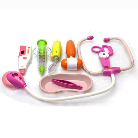 Kids Toys 8pcs Medical Kit Kids Doctor Toys Set