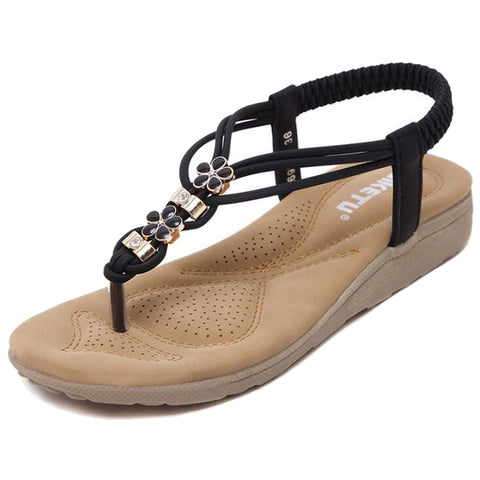 SIKETU Women Summer Casual Flat Sandals Ladies Summer