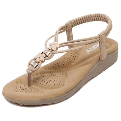 New SIKETU Women Summer Casual Flat Sandals Ladies