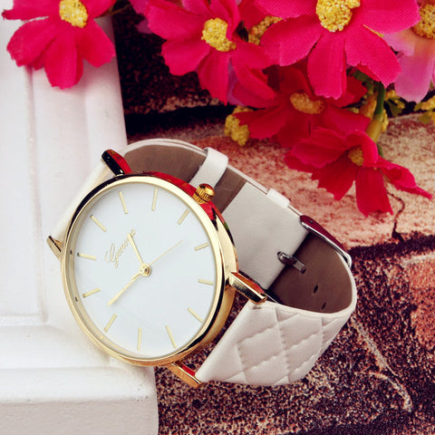 New Unisex Casual Geneva Women Watches
