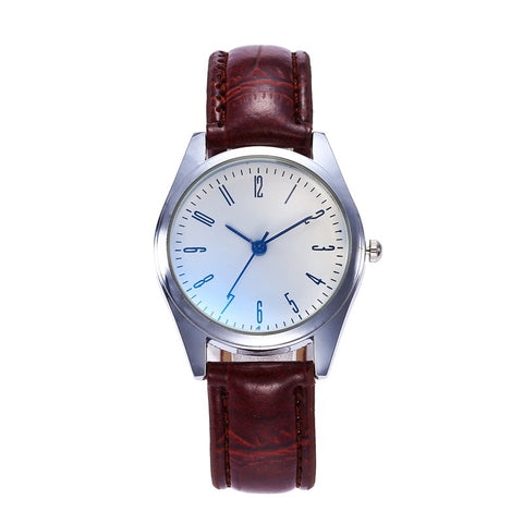 Blu-ray Leather Women Watches