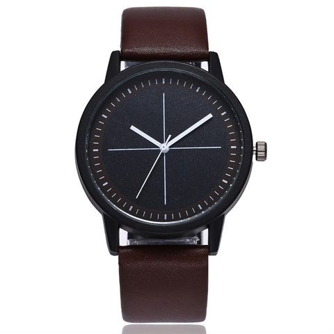 Fashion Simple Leather Women Watches