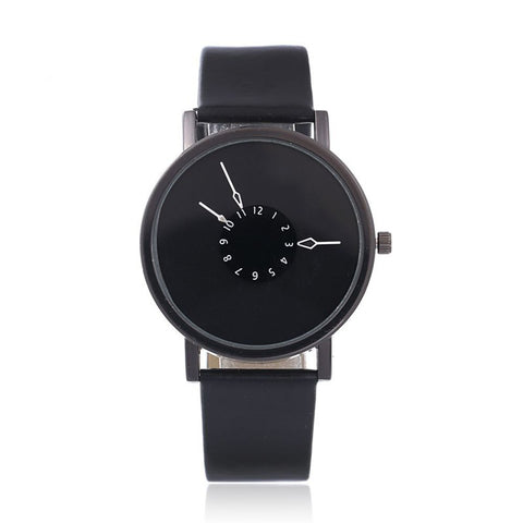 Simple Fashion Black White Women Watches