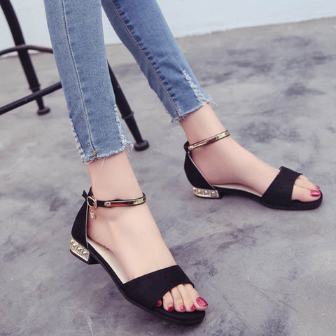 Korean Style 2018 Summer Women Sandals