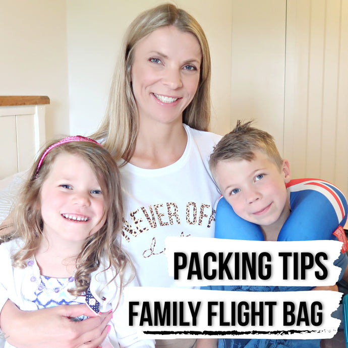Packing tips for your family flight bag