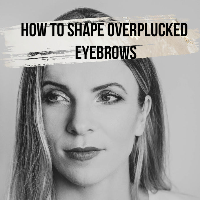 How to shape eyebrows with pencil