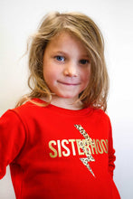 Load image into Gallery viewer, SISTERHOOD kids sweatshirt