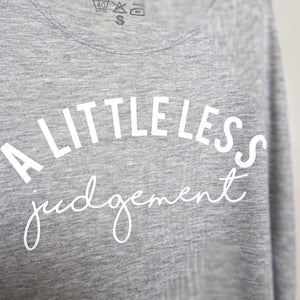 A Little Less Judgment vest close