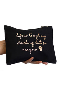 Life is tough my darling vanity case