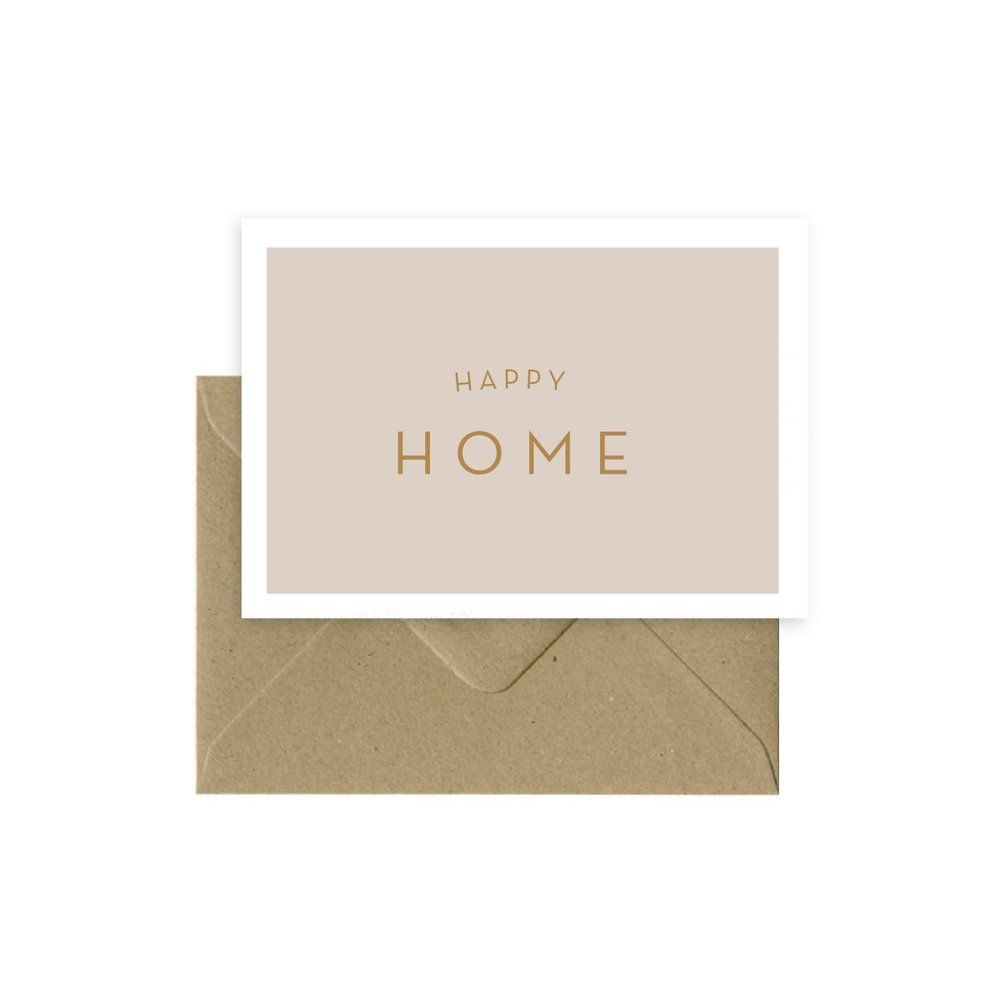 Carte Happy Home