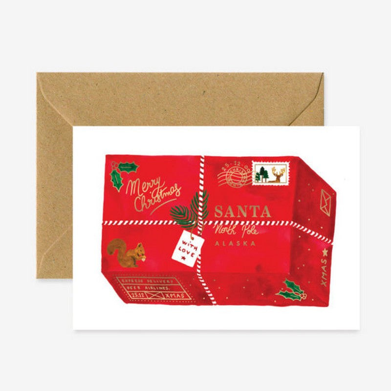 Carte de vœux _ Christmas package