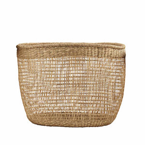 Panier en raphia naturel Medium