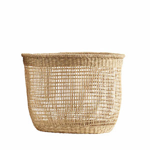 Panier en raphia naturel Small