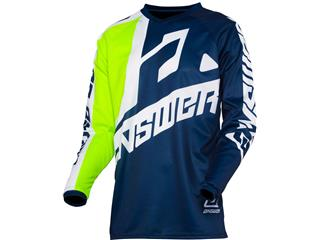 Maillot ANSWER Syncron Voyd Junior Midnight/Hyper Acid/White