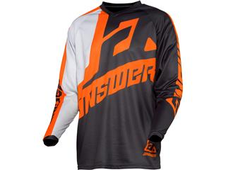 Maillot ANSWER Syncron Voyd Junior Charcoal/Gray/Orange