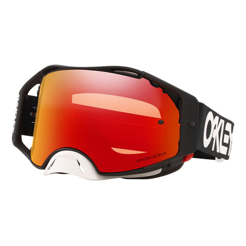 Masque OAKLEY Airbrake MX Factory Pilot Blackout écran Prizm MX Torch Iridium