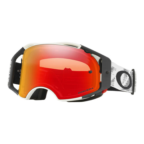 Masque OAKLEY Airbrake MX Matte White Speed écran Prizm MX Torch Iridium
