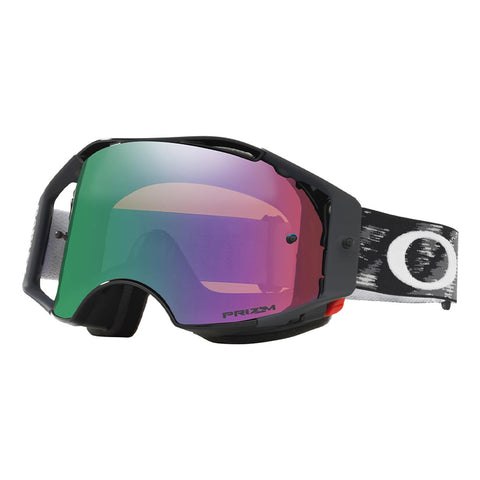 Masque OAKLEY Airbrake MX Jet Black Speed écran Prizm MX Jade Iridium