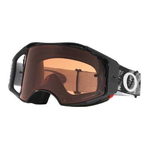 Masque OAKLEY Airbrake MX Jet Black Speed écran Prizm MX Bronze