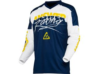 Maillot ANSWER Syncron Pro Glow Junior Yellow/Midnight/White