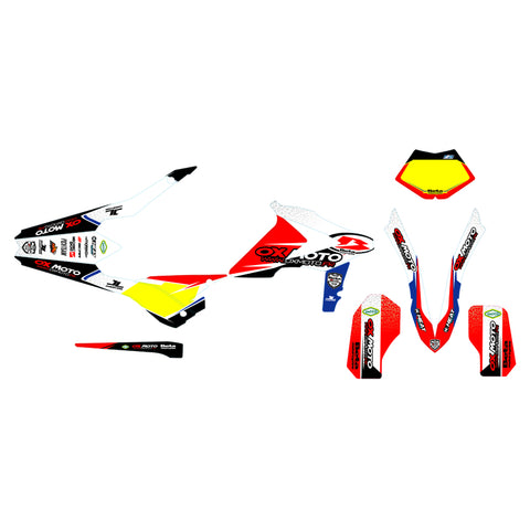 Kit déco replica team officiel Beta Oxmoto