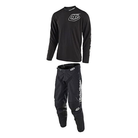 Tenue Troy Lee design GP Mono noir - oxmoto.myshopify.com - Troy Lee Design