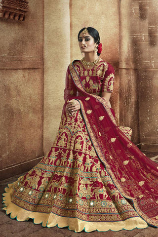 Vivah Bridal Wedding wear Lehnega Choli