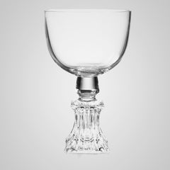 Half Cut Wine Glass