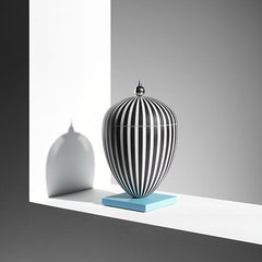 Wedgwood by Lee Broom Vase On Blue Rectangle